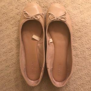 Merona Tan Ballett Flats